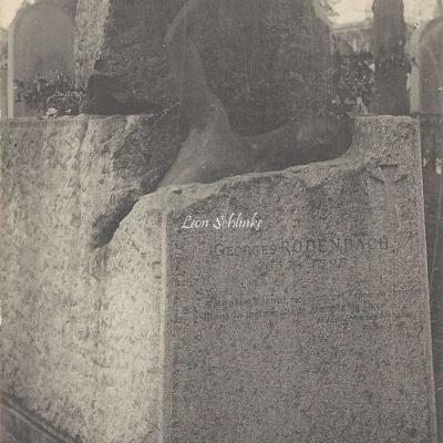 46 - Monument de Georges Rodenbach, 1855-1898