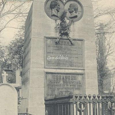 5 - Monument de Béranger et de Manuel