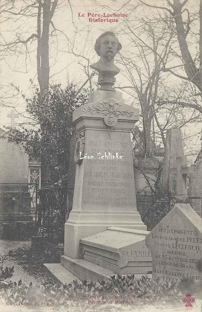 61 - Monument de J.-A. Beaucé, Peintre d'histoire