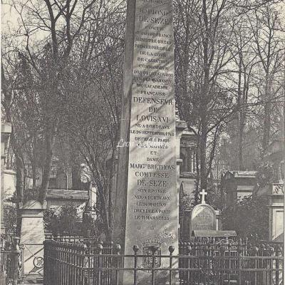 77 - Monument du Comte et de la Comtesse de Sèze