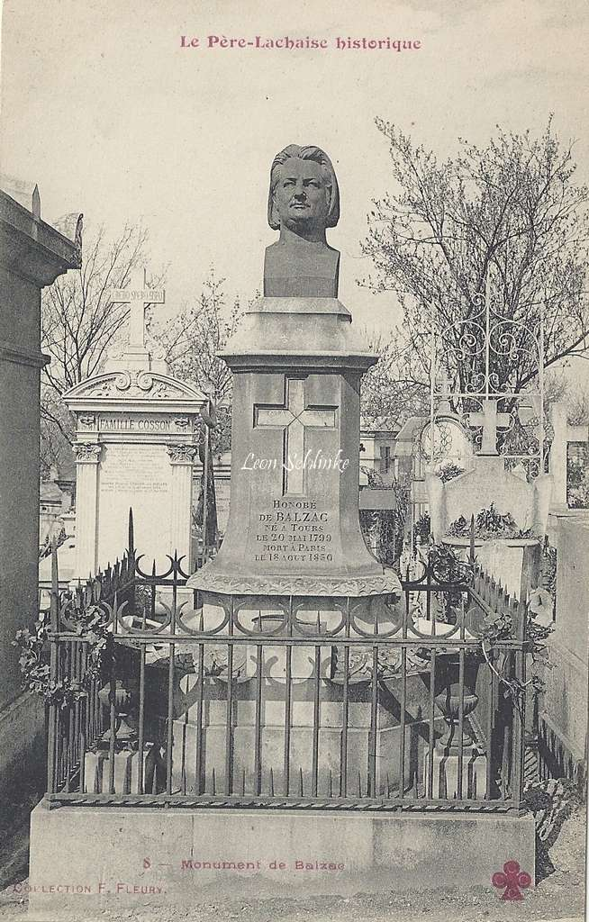 8 - Monument de Balzac