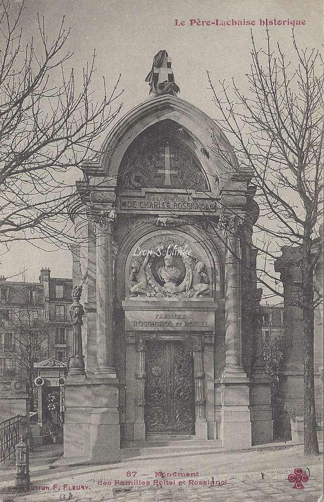 87 - Monument des Familles Roitel et Rossignol