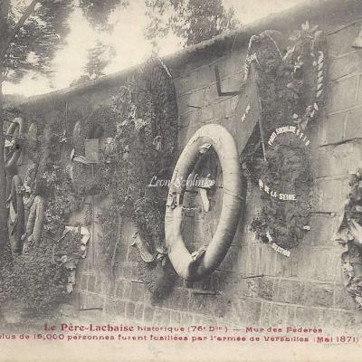 99 - Mur des Fédérés