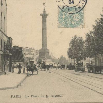 PL - PARIS - Place de la Bastille