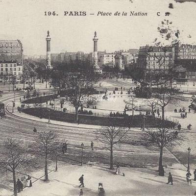 CM 194 - Place de la Nation