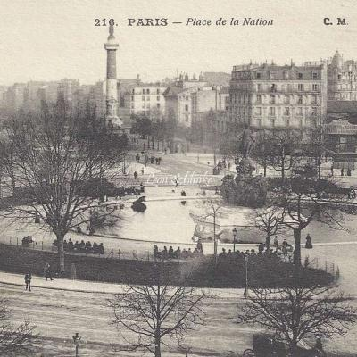 CM 216 - Place de la Nation