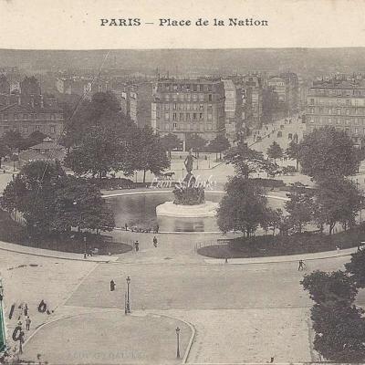Gondry - Place de la Nation (vue 1)