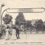 FF 758bis - Place de la Nation L Entree du Metro