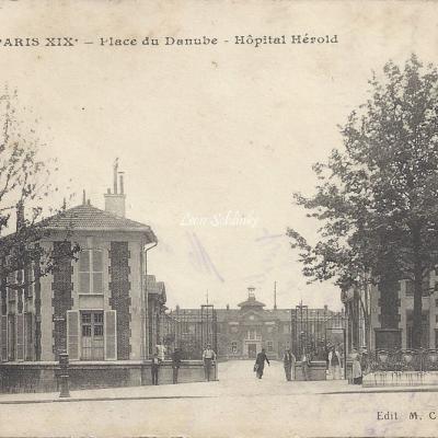 Place du Danube, Hôpital Hérold - MCB 3