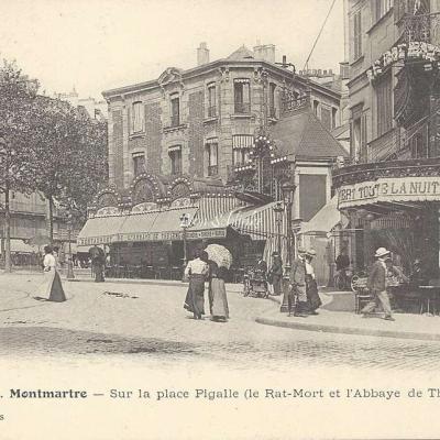 GCA 551 - Place Pigalle - Le Rat Mort, l'Abbaye de Thélème