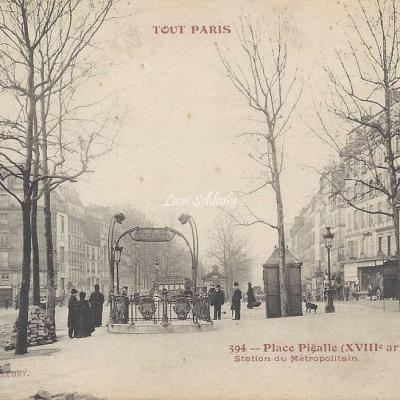 TOUT PARIS 594 - Place Pigalle