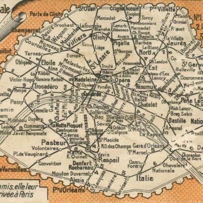 Plan CP Metro et Nord·Sud