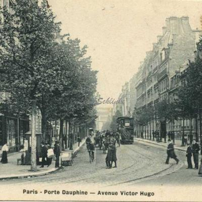 P. Plin - Paris - Porte Dauphine - Avenue Victor Hugo