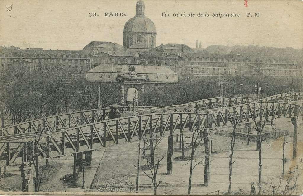 PM 23 - PARIS - Vue Générale de la Salpétrière