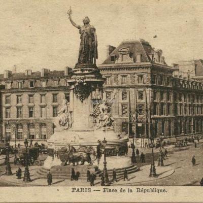 PMM - PARIS - Place de la République