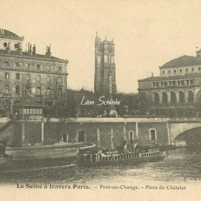 Pont-au-Change - Place du Châtelet