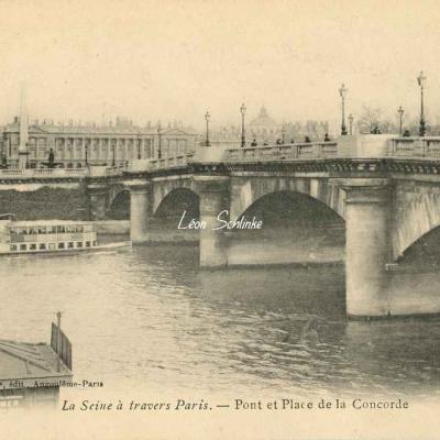 Pont et Place de la Concorde