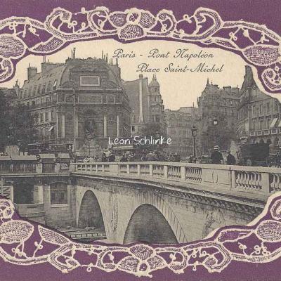 Pont Napoléon - Place Saint-Michel