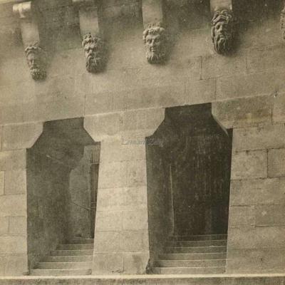 Pont-Neuf - Départ de l'escalier