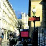 Poster XXL - Station de Métro, rue Bourdaloue