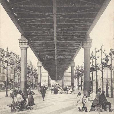 PPC 136 - Le Boulevard de la Chapelle