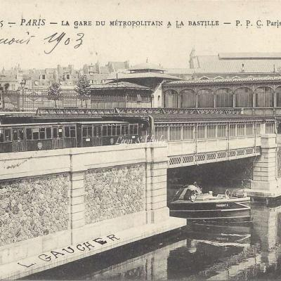 PPC 145 - La Gare du Metropolitain à la Bastille