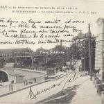 PPC 166 - Le Rond-Point du Boulevard de la Villette