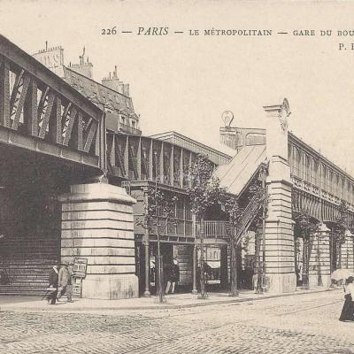 PPC 226 - Le Metropolitain - Gare du Bd Barbès