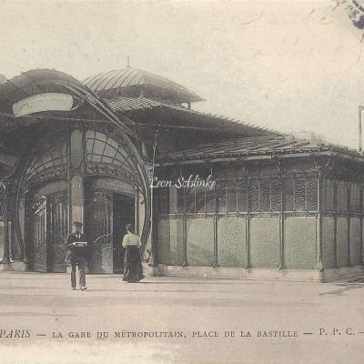 PPC 270 - La Gare du Metropolitain, Place de la Bastille