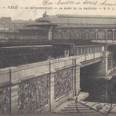 PPC 362 - Le Metropolitain - La Gare de la Bastille