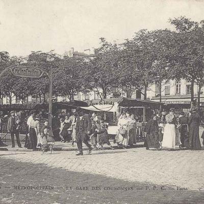 PPC 412 - Métropolitain - La Gare des Couronnes