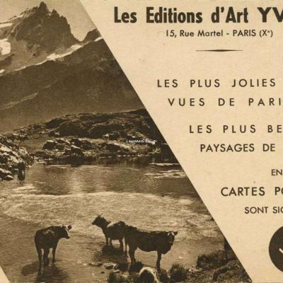 Pub des Editions d'Art YVON