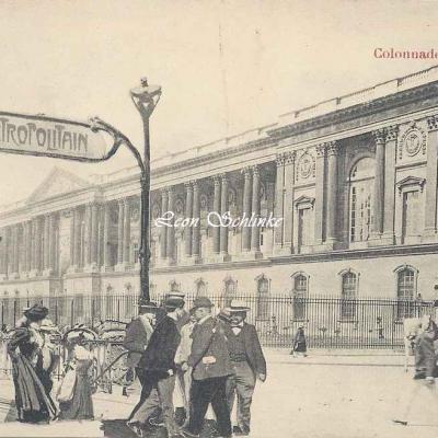 R.Tuck 23 - Colonnade du Louvre