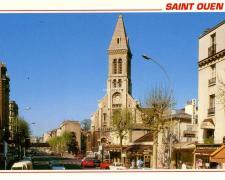 Raymon - SAINT-OUEN - L'église N.D. du Rosaire et l'Av. G.Péri