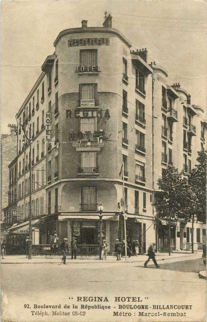REGINA HOTEL Vue1