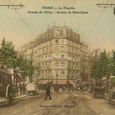 Regnault lib. - La Fourche - Avenues de Clichy et de Saint-Ouen
