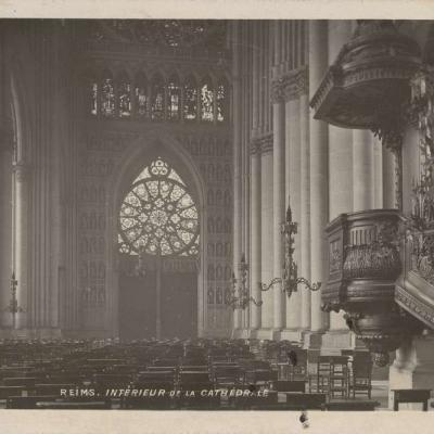 Reims - Interieur de la Cathédrale