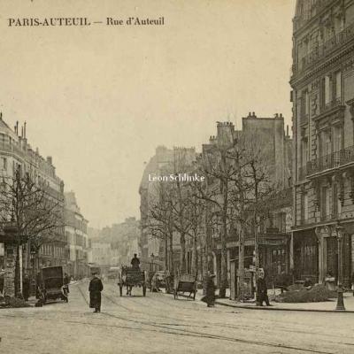 Repelin - Paris-Auteuil - Rue d'Auteuil