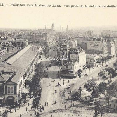 Riant A. - Panorama vers la Gare de Lyon