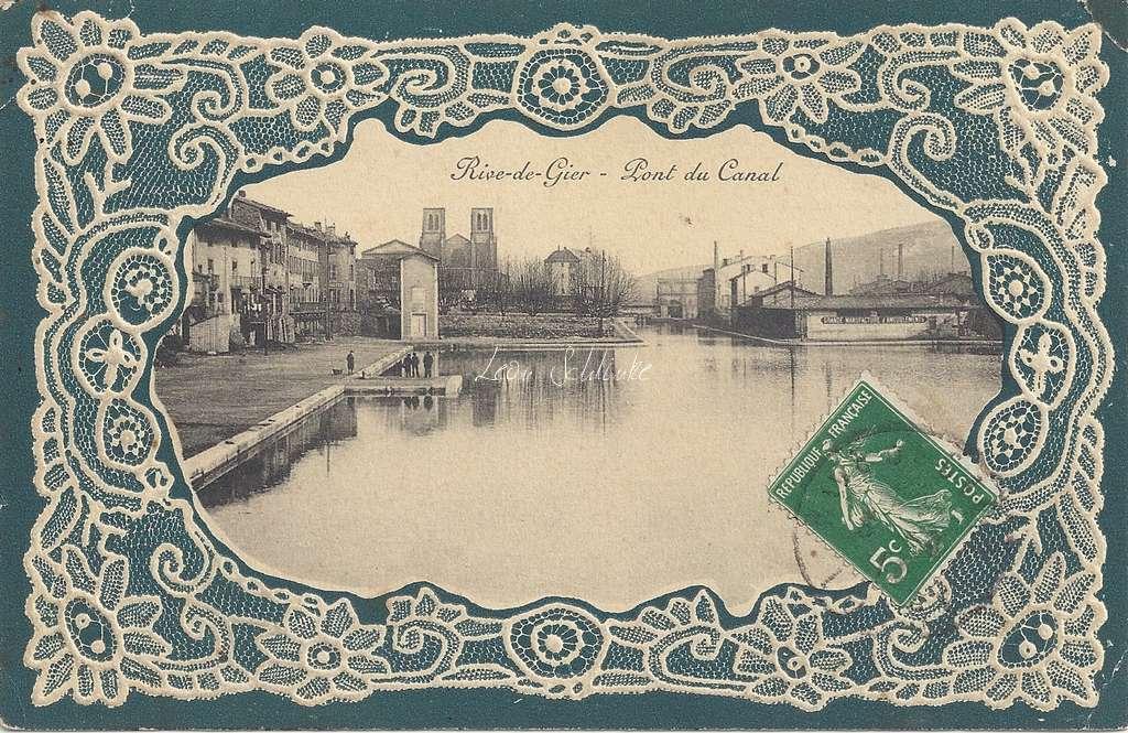 Rive de Gier - Pont du Canal