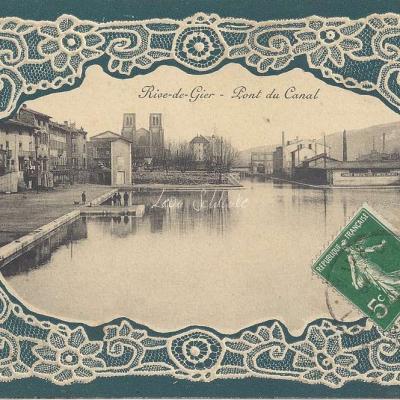 Carte Dentelle - 42 - Loire