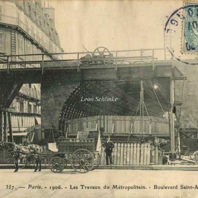 RN 357 - Travaux Boulevard Saint-André