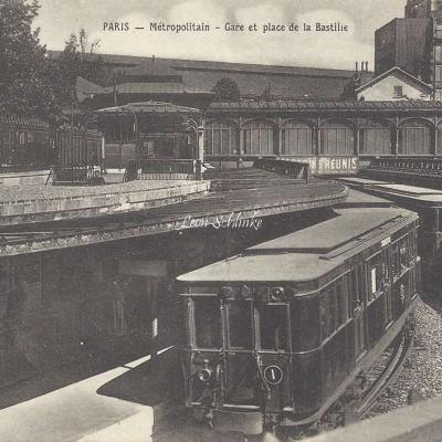 Romand P.6 - Metropolitain - Gare et Place de la Bastille