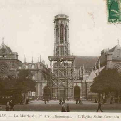 Rose 117 - La Mairie du I° et l'Eglise St-Germain l'Auxerrois