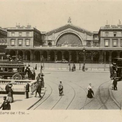 Rose 18 - PARIS - La Gare de l'Est