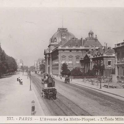 Rose 237 - L'Avenue de la Motte-Picquet  -  L'Ecole Militaire