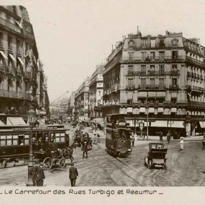 Rose 380 - Le Carrefour des Rues Turbigo et Réaumur