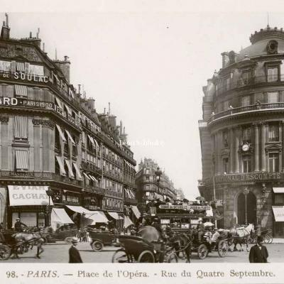 Rose 98 - Place de l'Opéra - Rue du Quatre Septembre