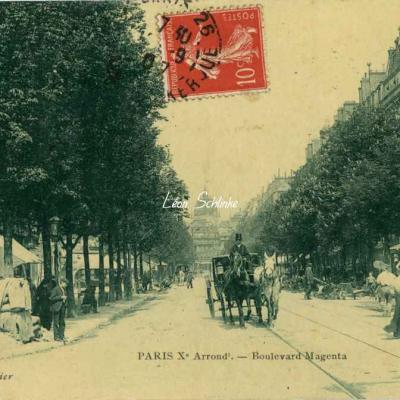 Rousier M. - Boulevard Magenta