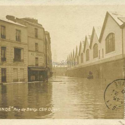 Rue de Bercy · Côté Ouest